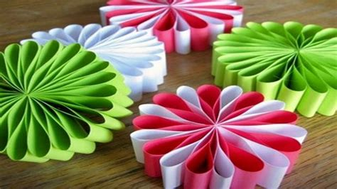 easy christmas decorations using paper craft of the day