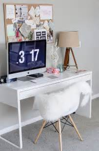 Decorating Desk Ideas Ikea Micke Desk Scandinavian Office Ideas Minimalist Desk Design Ideas
