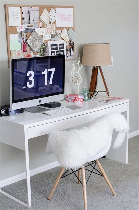 Desk Decorating Ideas by Micke Desk Scandinavian Office Ideas Minimalist
