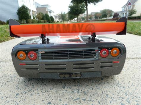 custom mclaren f1 custom kyosho inferno gt2 ve w mclaren f1 working