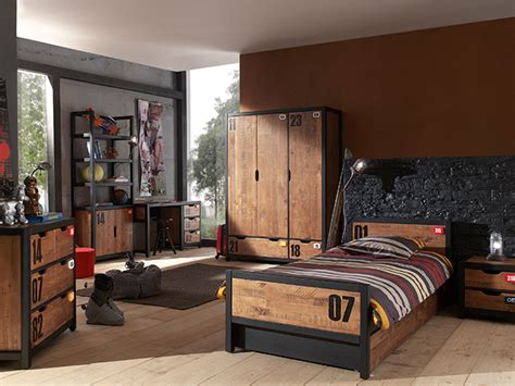 modele de chambre pour ado garcon deco chambre ado industriel visuel 3