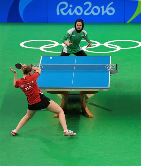 Olympic Table Tennis by Alexandra Privalova In Table Tennis Olympics Day 1 Zimbio