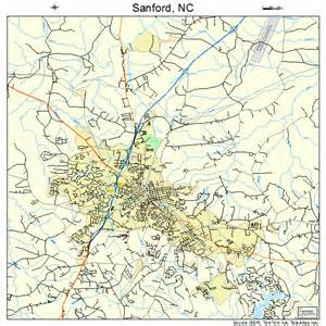 sanford carolina map sanford carolina map 3759280