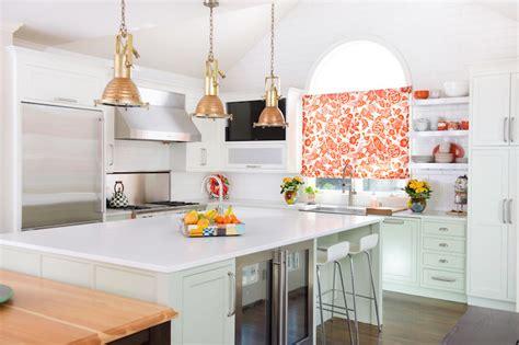 Mint Green Kitchen Curtains Decorating White Quartz Countertops Vintage Kitchen