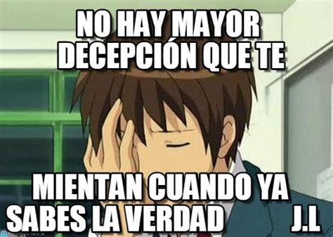 Memes De Decepcion
