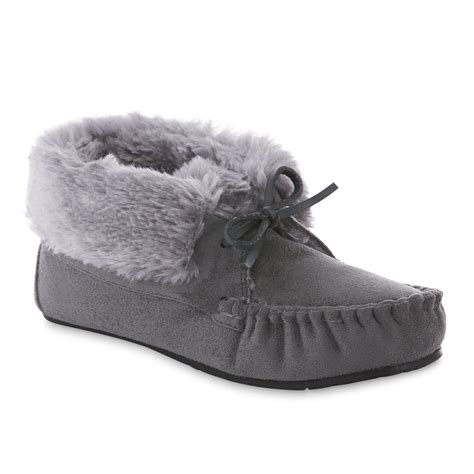 route 66 slippers route 66 s marnie gray moccasin slipper shoes