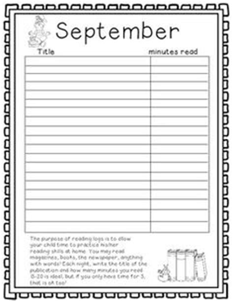 printable monthly reading log with parent signature home reading log with parent signature new calendar