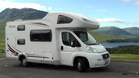 motorholme 5 6 7 berth motorhomes for hire in scotland