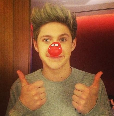 one direction red nose day red nose day one direction photo 33952733 fanpop