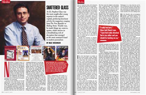 Vanity Fair Articles by Shattered Glass Vanity Fair