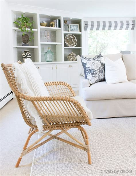 comfortable wicker chairs how i ve created a casually elegant style in our home