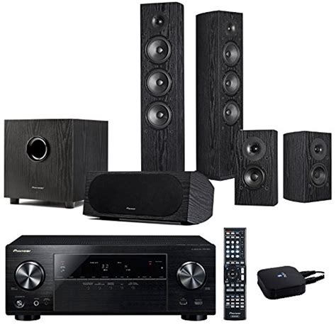 pioneer vsx 824 andrew jones 5 1 home theater system w