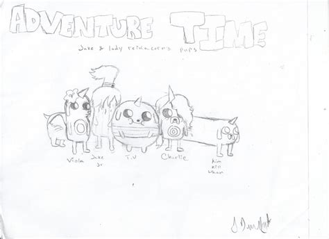 adventure time jake s puppies adventure time jake s puppies by james2419 on deviantart