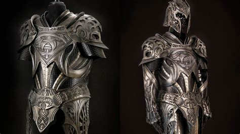 zedd gear suit up with this man of steel inspired medieval armor