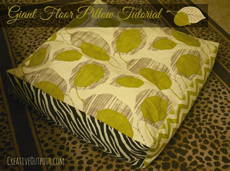 Floor Pillow Diy by 15 Cool Diy Tutorials On How To Make Pillows