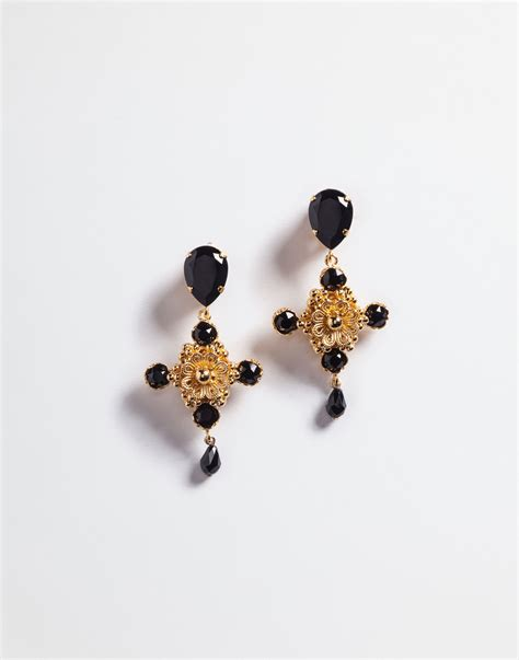 Cross Drop Earring jewellery and bijoux for dolce gabbana cross