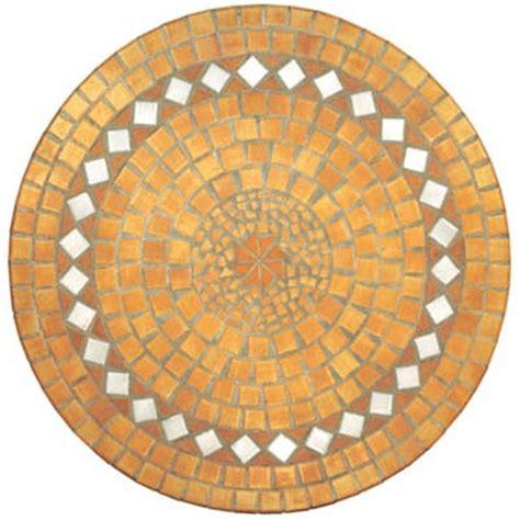 mosaic table 90 cm