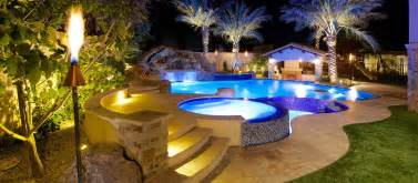 Backyard Lazy River Phoenix Landscaping Design Amp Pool Builders Pool
