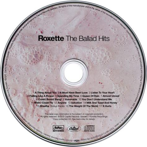 Cd Roxette The Ballad Hits 1 car 225 tula cd de roxette the ballad hits japanese edition portada