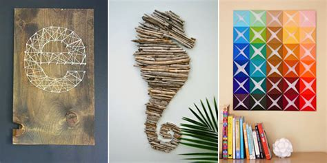diy projects for wall decor 16 spectacular diy wall projects that will beautify