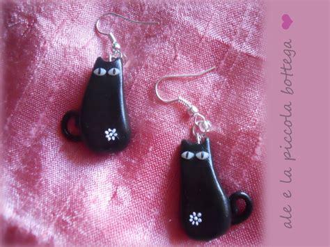 oggetti portano sfortuna orecchini gatti neri gioielli orecchini di ale e la