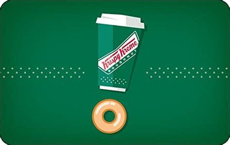 Krispy Kreme Gift Card Balance - amazon com krispy kreme gift cards configuration asin e mail delivery gift cards