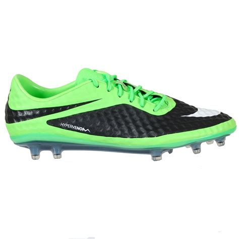 uk football shoes nike hypervenom phantom firm ground boots green