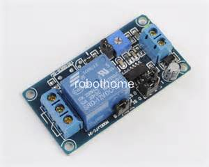 12v power on delay relay module delay circuit module for