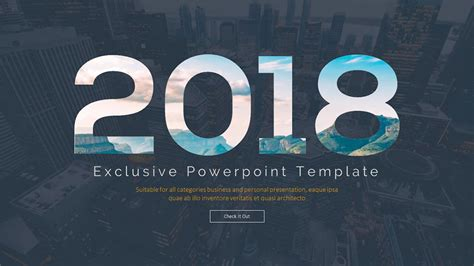 Powerpoint Templates Free 2018