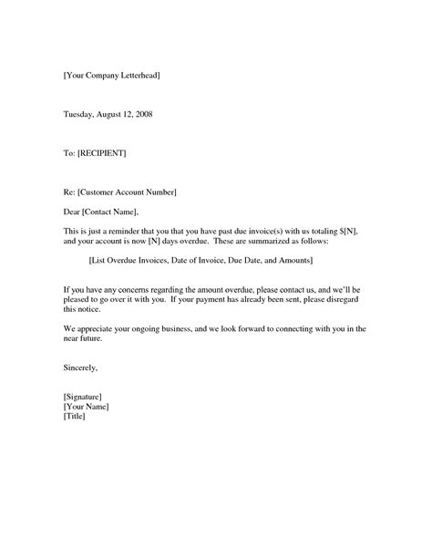 past due invoice letter template learnhowtoloseweight net