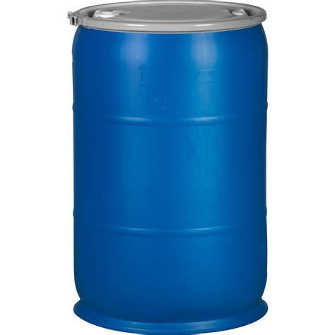 100 Gallon Plastic Barrel - 94 55 gallon drum stand recond 55 gal plastic t h drum