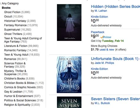 book categories on amazon writers new categories for ya authors can help you rank on amazon