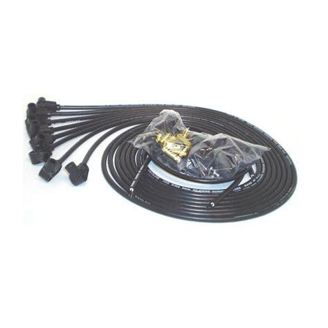 spark wire resistor cable 70051 8mm spark wires 90 deg resistor black