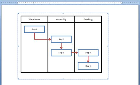 flowcharts in word how to embed an excel flowchart in microsoft word breezetree