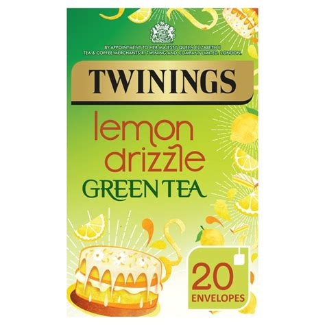 A Tastetea Reminder And Free Tea Offer by Morrisons Twinings Lemon Drizzle Green Tea 20 Bags 40g
