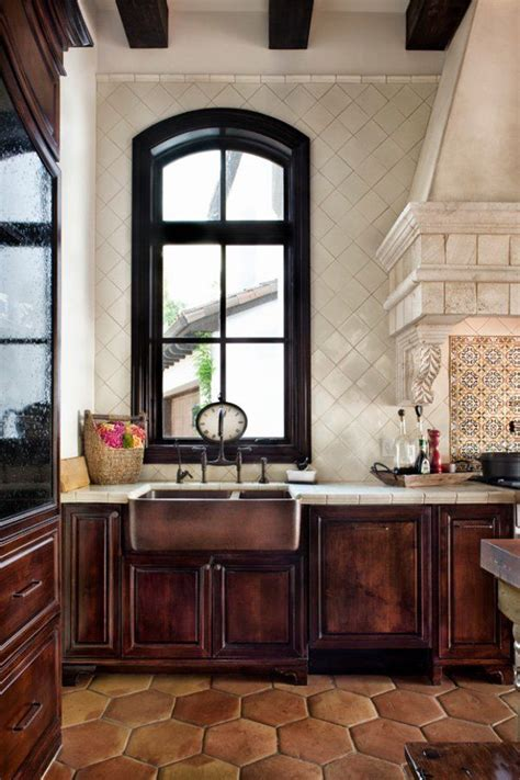 spanish inspired dream home on lake conroe best 25 spanish tile kitchen ideas on pinterest