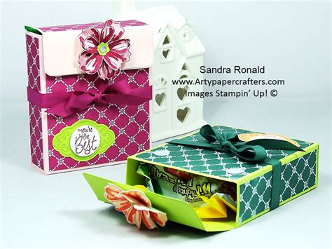 pretty gifts pretty gift box for treats arty paper crafters
