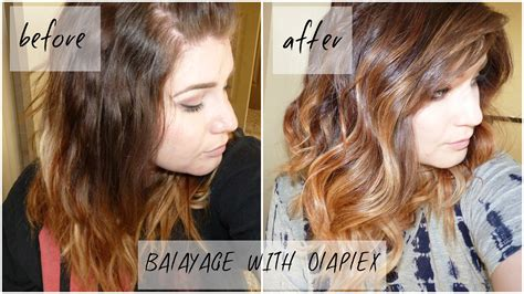 where to apply face framing highlights on short hair diy how i added face framing balayage to my hair myself