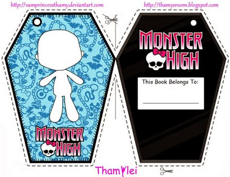 printable monster bookmarks monster hight free printable bookmarks oh my fiesta