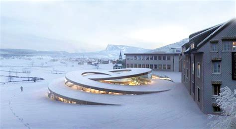 design architecture big designs amazing spiral shaped museum for swiss