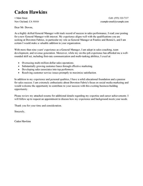 Conference Manager Cover Letter by Stylish Event Manager Cover Letter Simple Sle Cover Letter