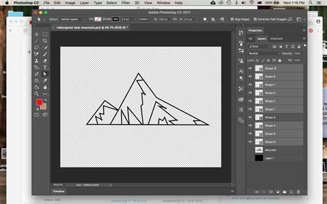 pattern tool photoshop cc make a shape with pen tool and colour it photoshop cc17