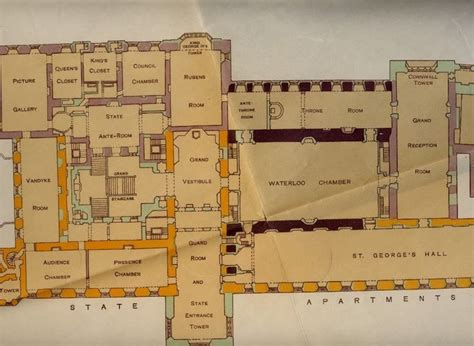 floor plan of windsor castle windsor castle floorplans staterooms castles and palaces