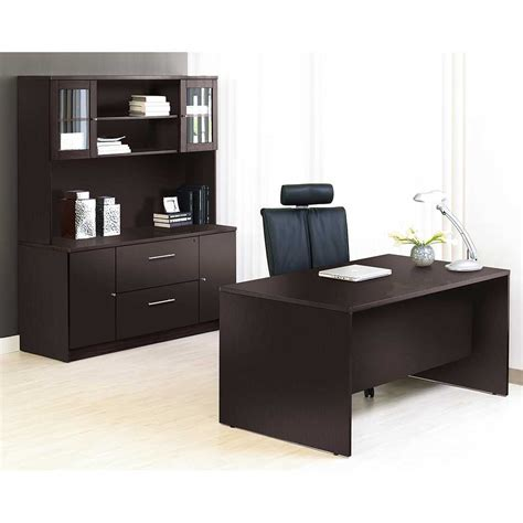 unique office desk unique furniture 100 series espresso executive office desk