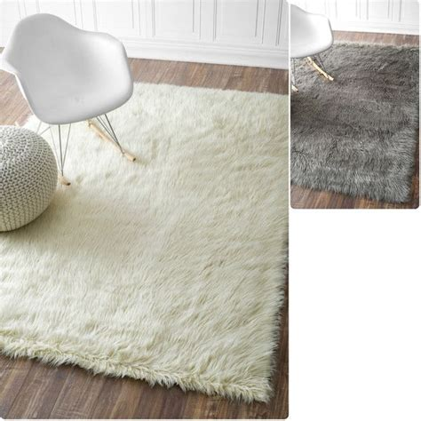can you wash a sheepskin rug nuloom faux flokati sheepskin solid soft and plush cloud shag rug 252 liked on polyvore