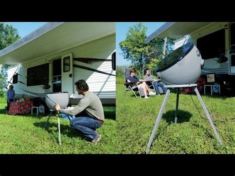 winegard gm  carryout anser portable satellite antenna works  dish hd directv  bell