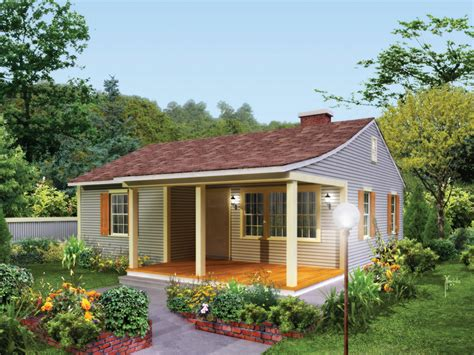 Ordinary Cottage Style House Plans Screened Porch #6: 008D-0159-front-main-8.jpg