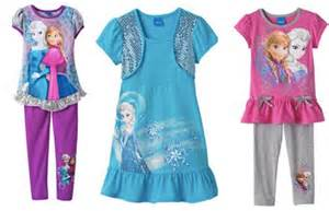 Kohl s disney frozen kids clothing as low as 6 99 nice christmas