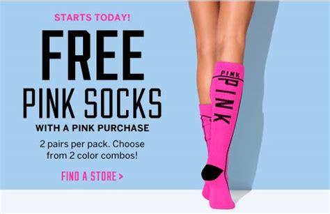 Victorias Secret Free Pink by S Secret Free 2 Pack Pink Socks Coupons 4 Utah