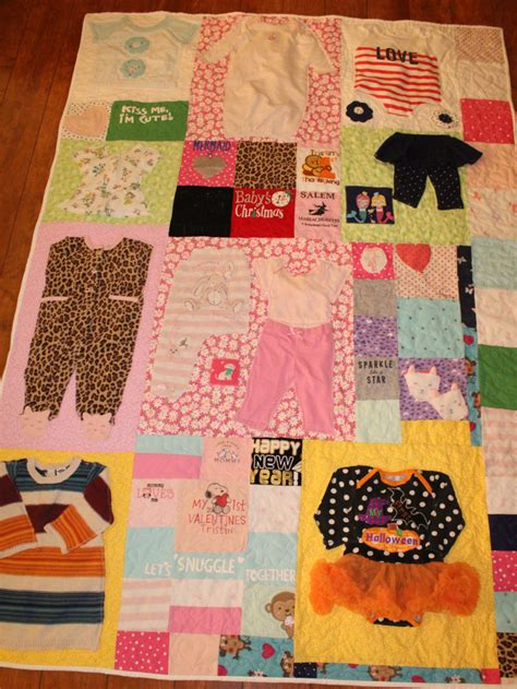 clothes quilt pattern babys first year quilt baby memory quilt baby clothes quilt